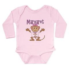 Little Monkey Margaret Long Sleeve Infant Bodysuit