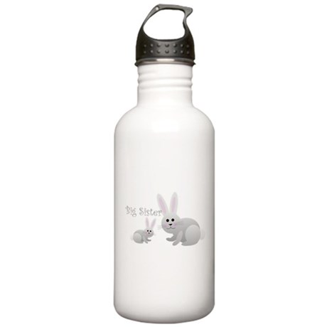 Big Sister/Grey Bunny Stainless Water Bottle 1.0L