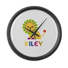 Kiley the Lion Large Wall Clock