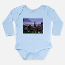 Manhattan Long Sleeve Infant Bodysuit