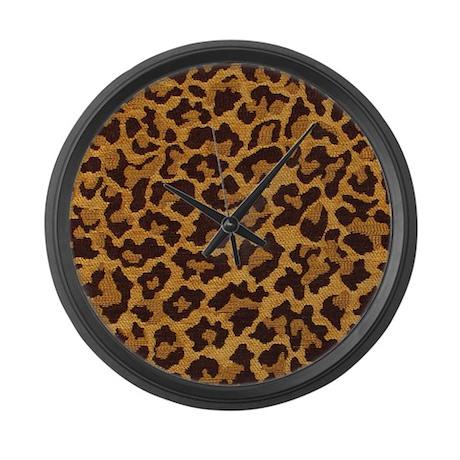LEOPARD Large Wall Clock