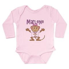 Little Monkey Marlene Long Sleeve Infant Bodysuit