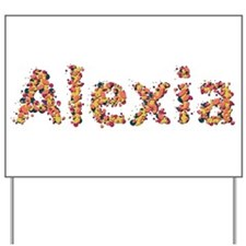 Alexia Fiesta Yard Sign