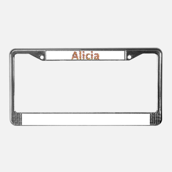 Alicia Fiesta License Plate Frame