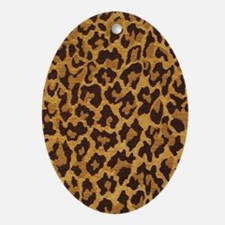 LEOPARD Ornament (Oval)