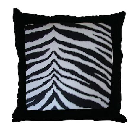 Zebra Print Decorative Pillow : ZEBRA PRINT Throw Pillow by franklindesigns