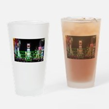 Times Square Drinking Glass