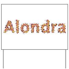 Alondra Fiesta Yard Sign