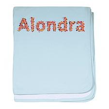 Alondra Fiesta baby blanket