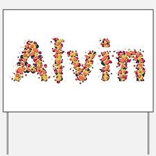 Alvin Fiesta Yard Sign