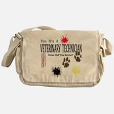 Yes I'm A Veterinary Technici Messenger Bag