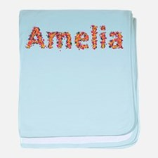 Amelia Fiesta baby blanket