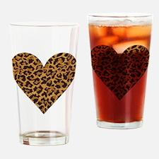 LEOPARD Drinking Glass
