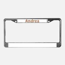 Andrea Fiesta License Plate Frame