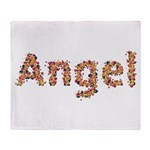 Angel Fiesta Throw Blanket