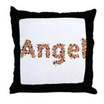 Angel Fiesta Throw Pillow