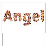 Angel Fiesta Yard Sign