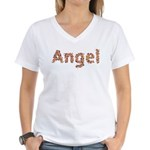 Angel Fiesta Women's V-Neck T-Shirt