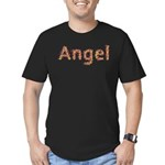 Angel Fiesta Men's Fitted T-Shirt (dark)