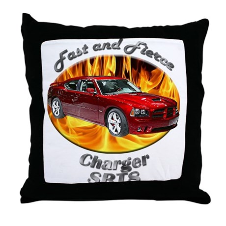 Dodge Charger SRT8 Throw Pillow