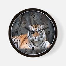 Resting Tiger Wall Clock