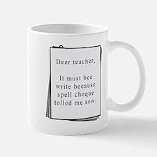 Deer teacher Mug