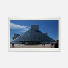 Rock-N-Roll Hall of Fame Rectangle Magnet