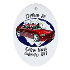 Dodge Charger SRT8 Ornament (Oval)