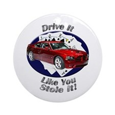 Dodge Charger SRT8 Ornament (Round)