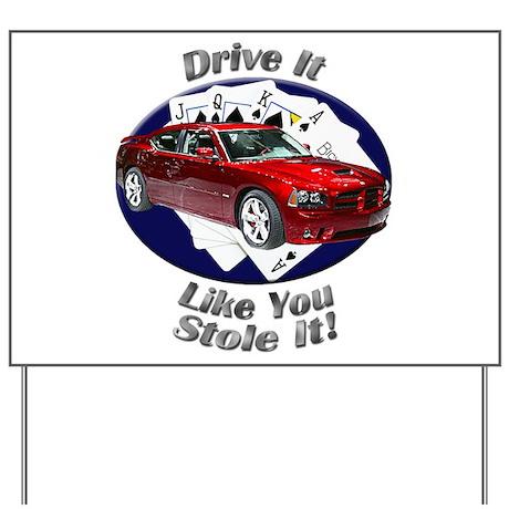 Dodge Charger SRT8 Yard Sign