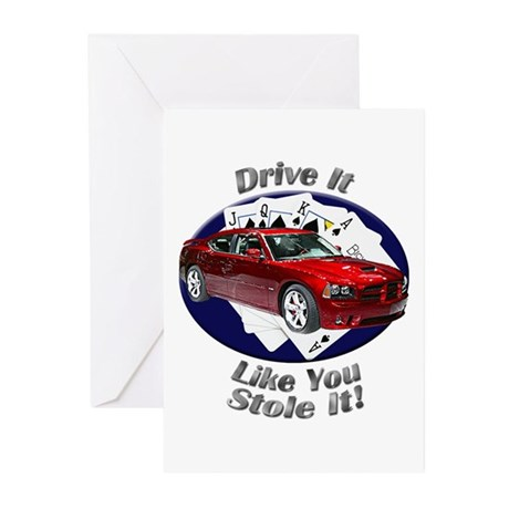 Dodge Charger SRT8 Greeting Cards (Pk of 10)