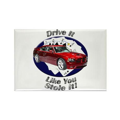 Dodge Charger SRT8 Rectangle Magnet (10 pack)