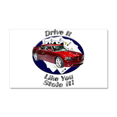 Dodge Charger SRT8 Car Magnet 20 x 12