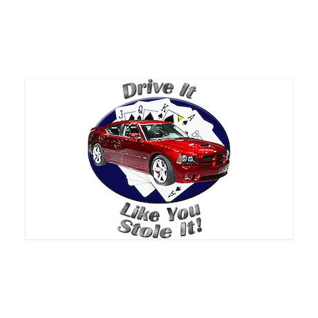 Dodge Charger SRT8 Large Wall Peel