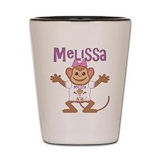 Little Monkey Melissa Shot Glass