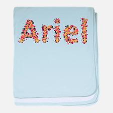 Ariel Fiesta baby blanket