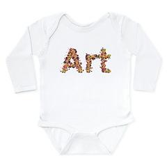 Art Fiesta Long Sleeve Infant Bodysuit
