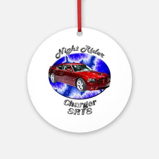 Dodge Charger SRT8 Ornament (Round)