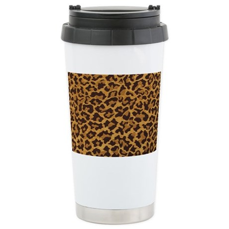 LEOPARD Stainless Steel Travel Mug