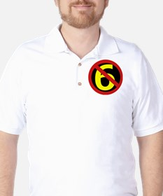 Anti Sixers Golf Shirt