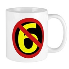 Anti Sixers Small Mug