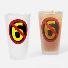 Anti Sixers Drinking Glass