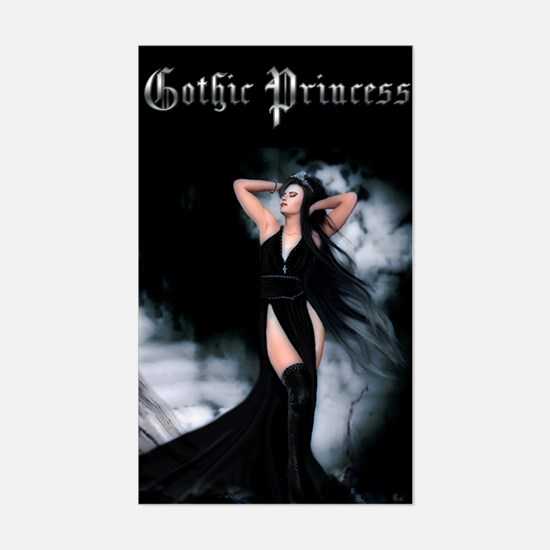 Gothic Princess Rectangle Decal