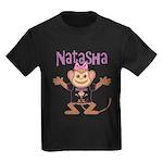 Little Monkey Natasha Kids Dark T-Shirt