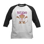 Little Monkey Natasha Kids Baseball Jersey