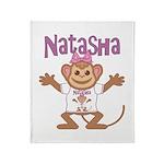 Little Monkey Natasha Throw Blanket