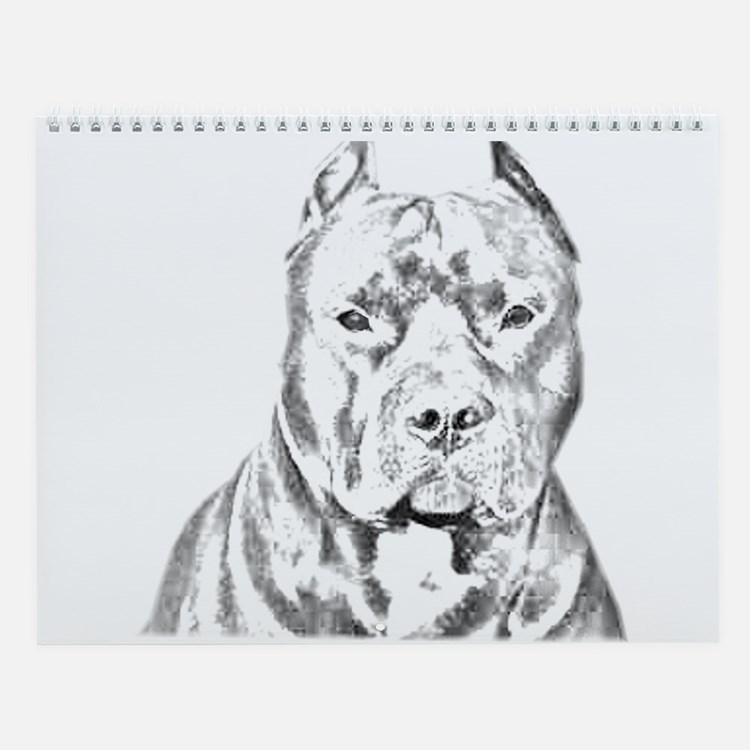 Calendar Head Design : Pit bull terrier calendars calendar