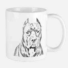 Pit Bull Head Mug