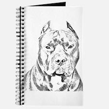 Pit Bull Head Journal