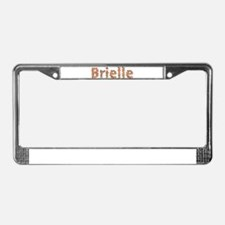 Brielle Fiesta License Plate Frame